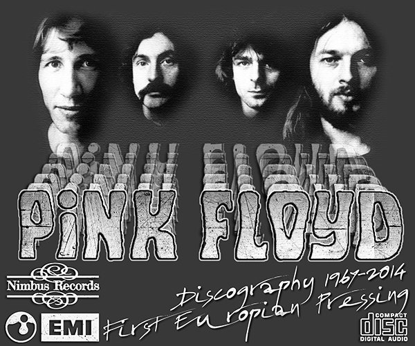 PINK FLOYD «Discography 1967-2014» (19 x CD • Europian 1st Press • Issue 1984-2014)