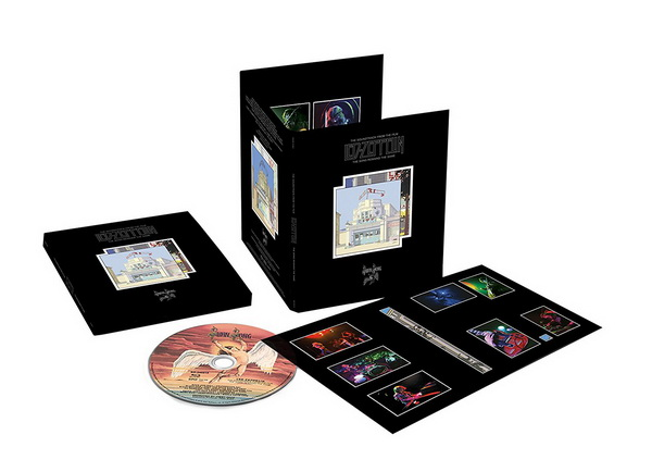 Led Zeppelin: 1976 The Song Remains The Same - 9-Disc Box Set + Blu-ray Audio Atlantic Records 2018