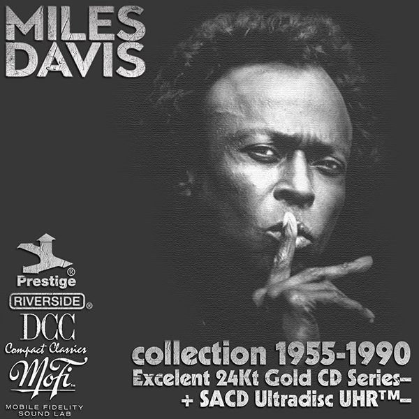 MILES DAVIS «Golden Collection» (29 x CD • 24Kt Gold CD + SACD • 1955-1990)