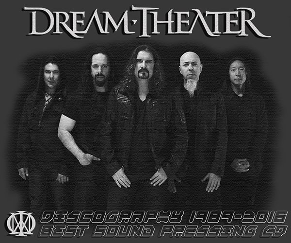 DREAM THEATER «Discography » (30 x CD • 20 albums • 1989-2016)