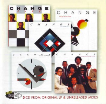 Change ‎- Album Collection [5CD Remastered Box Set] (2006)