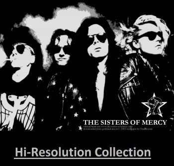 The Sisters Of Mercy - Hi-Resolution Collection (1985-1993) [HDTracks, Qobuz]