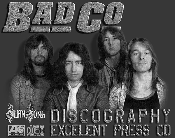 BAD COMPANY «Discography 1974-1999» (17 x CD • Swan Song Inc. • Issue 1985-2011)