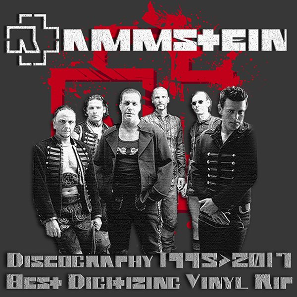 RAMMSTEIN «Discography on vinyl» (19 x LP • Universal Music Group • 1995-2017)