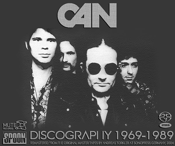 CAN «Discography 1969-1989» (13 x SACD • Spoon Records U.K. Ltd. • Remastered 2004)