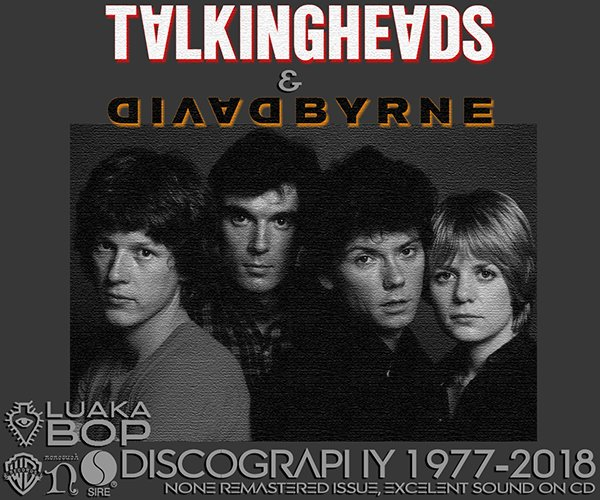 TALKING HEADS + DAVID BYRNE «Discography + solo» (20 x CD • Sire ⁄ Luaka Bop Limited • 1977-2018)
