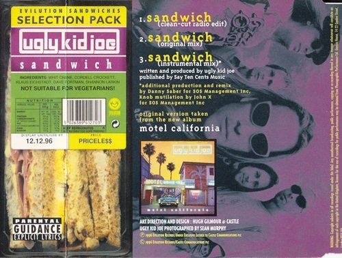 Ugly Kid Joe -  Sandwich (1996) [CDS]