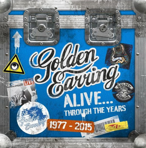 Golden Earring: 2018 Alive... Through The Years / 11CD Box Set Hart Musik