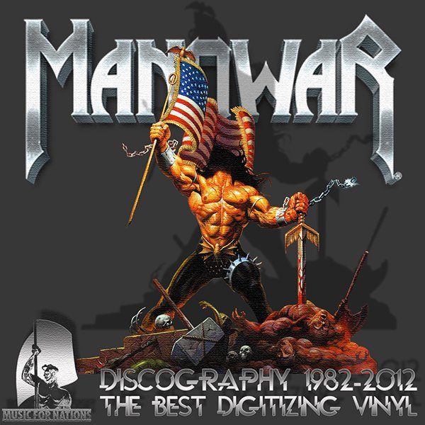 MANOWAR «Discography on vinyl» (12 x LP • Inar Music Ltd. • 1982-2012)