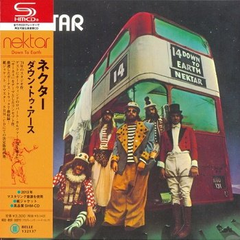 Nektar - Down To Earth (Japan Edition) (2013)