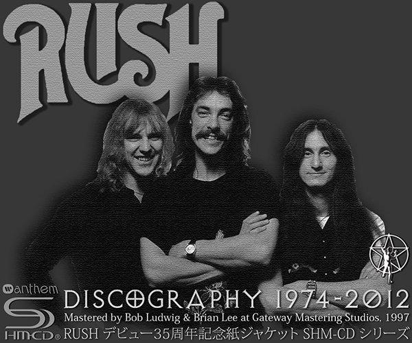RUSH «Discography 1974-2012» (20 x SHM-CD • Warner Music Japan Inc. • Issue 2009-2013)