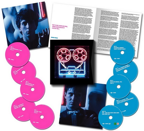 Soft Cell: 2018 Keychains & Snowstorms / 10-Disc Box Set Universal Music