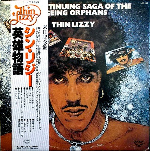 Thin Lizzy - The Continuing Saga Of The Ageing Orphans (1979) [Vinyl Rip 32/192]