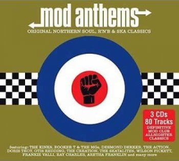 VA - MOD Anthems - Original Northern Soul, R'n'B & Ska Classics [3-CD Box Set] (2015)