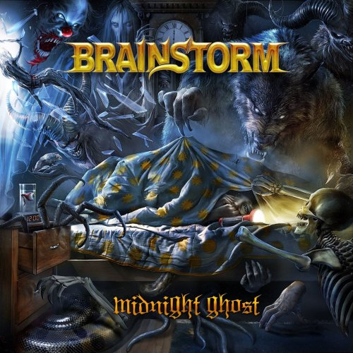 Brainstorm - Midnight Ghost [CD+DVD] (2018)
