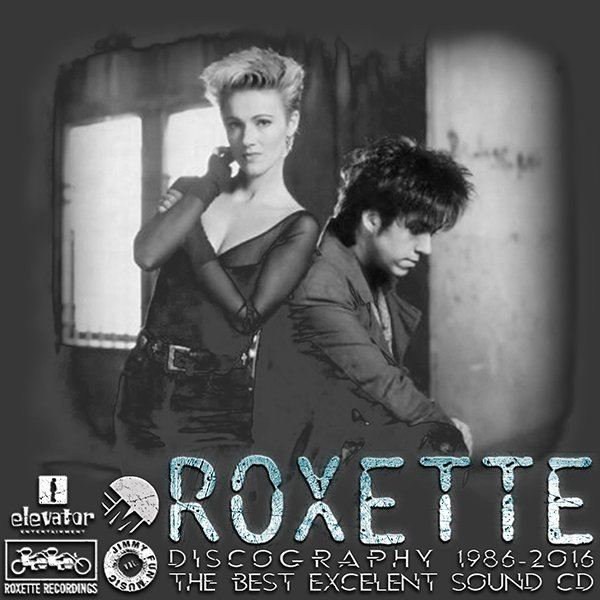 ROXETTE «Discography + solo project» (24 x CD • EMI Music Sweden AB Limited • 1986-2016)