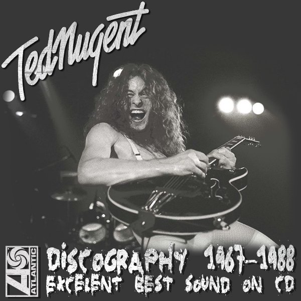 TED NUGENT ?Discography? (24 x CD ? 1st Press + Box? 1967-1988)