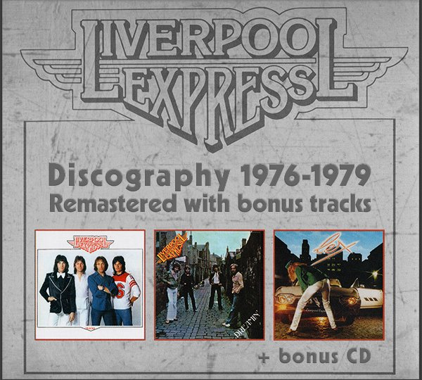 LIVERPOOL EXPRESS ?Discography? (4 x CD ? Warner Music UK Ltd. ? 2017)