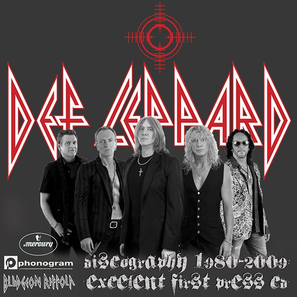 DEF LEPPARD ?Discography? (18 x CD ? Bludgeon Riffola Limited ? 1980-2009)