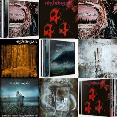 Nightingale - Discography 8CD (1995-2014)