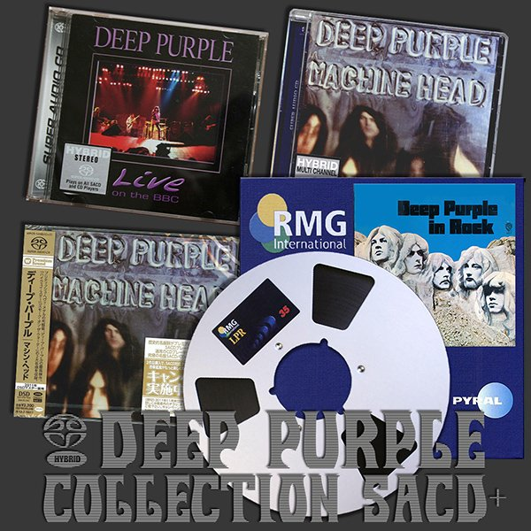 DEEP PURPLE «SACD Collection» (3 x SACD + Analogue Tape Recording • Three albums • Issue 2003-2011)