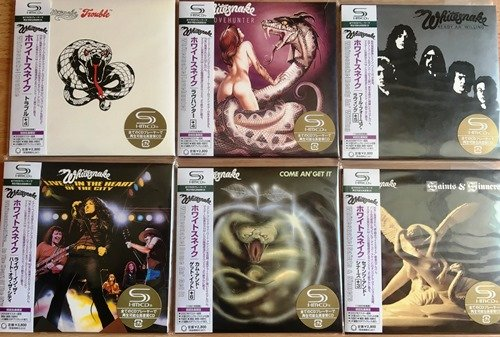 Whitesnake - Collection (1978-1982) [7CD SHM Japan Remast. 2007]