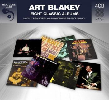 Art Blakey – Eight Classic Albums [4CD Remastered] (2012)