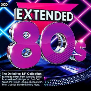 VA - Extended 80's - The Definitive 12inch Collection [3CD] (2014)