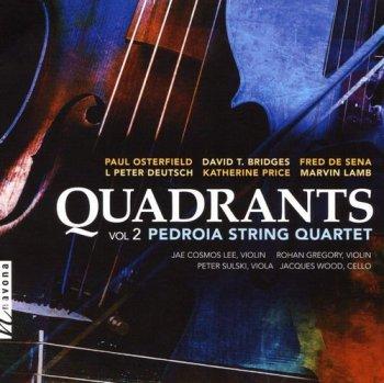 Pedroia String Quartet - Quadrants Vol. 2 (2018) [Hi-Res]