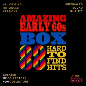 VA - Amazing Early 60s Box: 88 Hard-to-Find Hits [3CD] (2013)