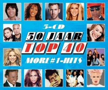 VA - 50 Jaar Top 40 - More #1-Hits [5CD] (2016)