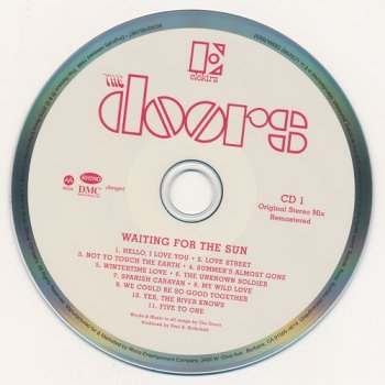 The Doors: 1968 Waiting For The Sun - 3-Disc Box Set Elektra Records 2018