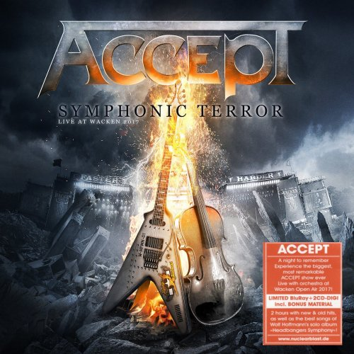 Accept - Symphonic Terror: Live At Wacken 2017 [2CD] (2018)
