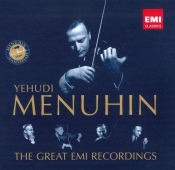 Yehudi Menuhin - The Great EMI Recordings [51CD Box Set] (2009)