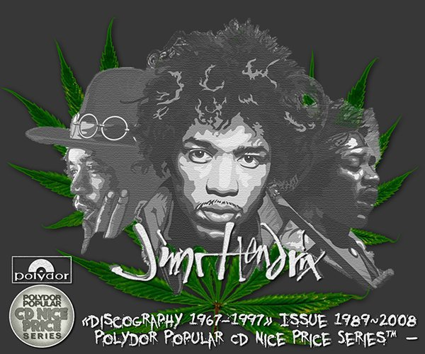 JIMI HENDRIX «Discography 1967-1997» (21 x CD • Polydor K.K., Japan • Issue 1989-2008)