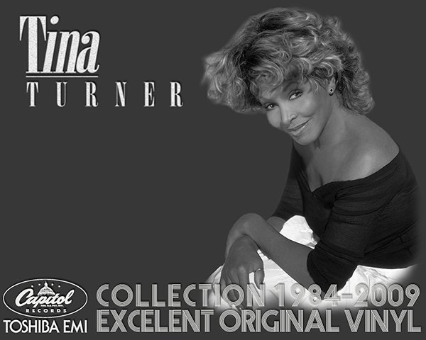TINA TURNER ?Discography on vinyl? + bonus (3 x LP + 3 x CD ? Capitol Records Ltd. ? 1984-2009)