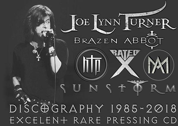 JOE LYNN TURNER ?Discography+++? (37 x CD ? Six Project's ? 1985-2018)