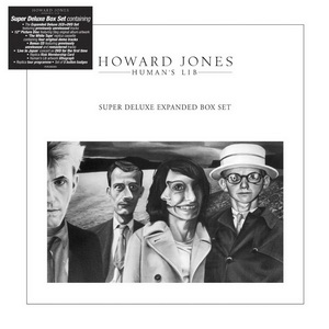 Howard Jones: 1984 Human's Lib ● 1985 Dream Into Action / 7/6 Disc Box Set Cherry Red Records 2018