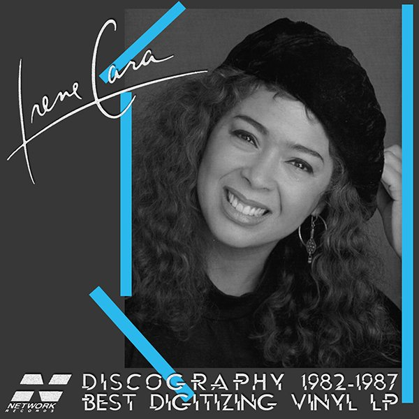 IRENE CARA «Discography on vinyl» (3 x LP Network Records Limited • 1982-1987)