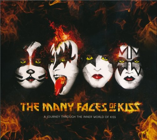 VA - The Many Faces Of KISS - A Journey Through The Inner World Of KISS (3CD 2017)