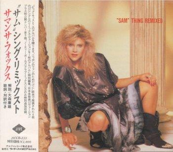 "Samantha Fox - ""Sam"" Thing Remixed [Japan] (1988)"
