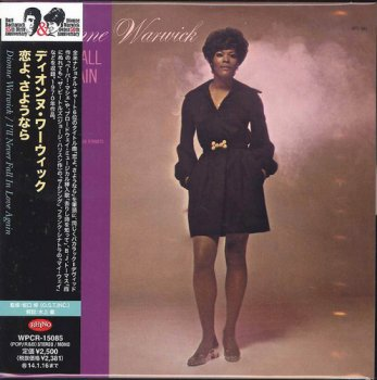 Dionne Warwick - I'll Never Fall in Love Again [Japanese Remastered Edition] (1970/2013)