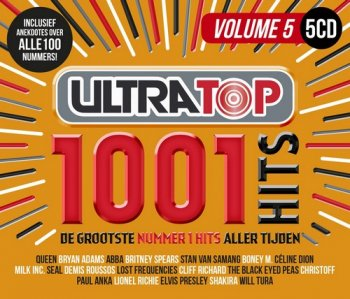 VA - Ultratop - 1001 Hits Volume 5 [5CD Box Set] (2018)