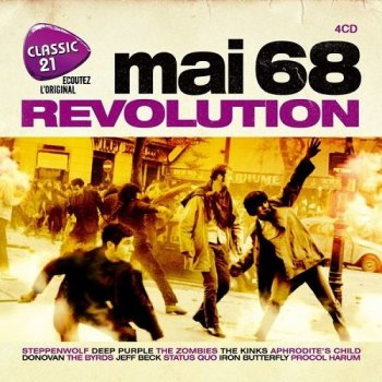 VA - Classic 21 Mai 68 Revolution [4CD Box Set] (2018)