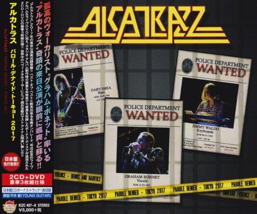 Alcatrazz - Parole Denied: Tokyo 2017 [2CD + DVD] [Japanese Edition] (2018)