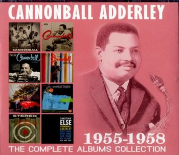 Cannonball Adderley - The Complete Albums Collection 1955-1958 (4CD, 2016)