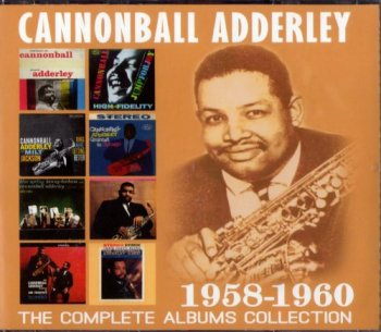 Cannonball Adderley - The Complete Albums Collection 1958-1960 (4CD, 2016)