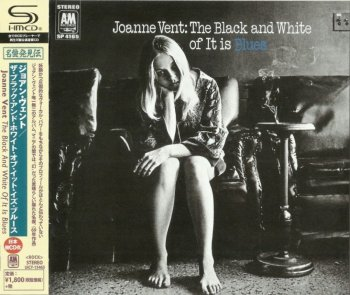 Joanne Vent - The Black And White Of It Is Blues 1969 (Japan SHM 2015)