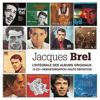 Jacques Brel - L'Intégrale Des Albums Originaux [13CD Remastered Box Set] (2010)
