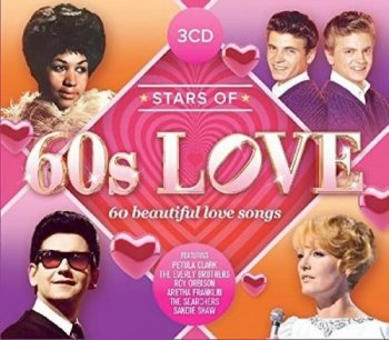 VA - Stars Of 60s Love [3CD Set] (2017)